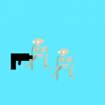 Kashvi's Skeleton Shooter game