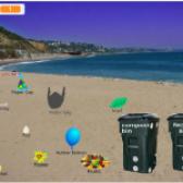 Kimaya's Beach Cleanup & Waste Segregation Game