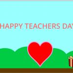 Havisaa's Teachers Day Card